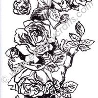 Marianne Design - Clear Stamp - Tiny's Border - Roses