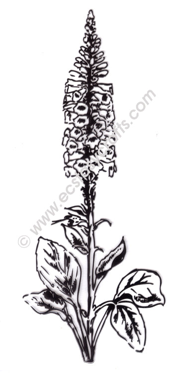 Marianne Design - Clear Stamp - Tiny's Foxglove