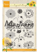 Marianne Design Stamps Tiny's Layered Sunflower