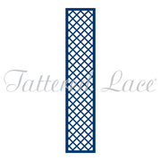 Tattered Lace Die - Love Is In the Air - Lattice Panel