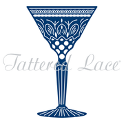 Tattered Lace Die - Art Deco Classic Cocktail Glass