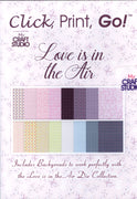 Tattered Lace - Love is in the Air CD of Printable Art Die Collection