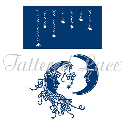 Tattered Lace Die - Moon