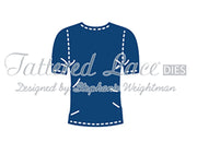Tattered Lace Die - George's T-Shirt