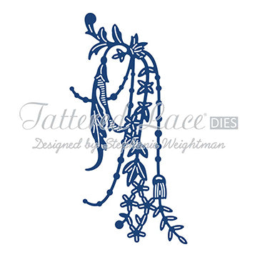 Tattered Lace Die - Pearl and Flower Swag