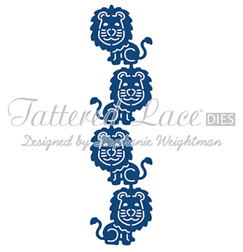 Tattered Lace Die - Lion Border