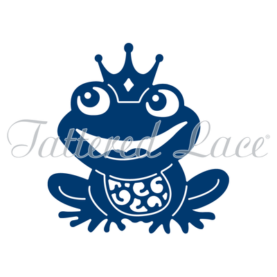 Tattered Lace Die - Frog