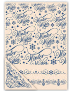 Tattered Lace - Embossing Folders - Winter Wishes