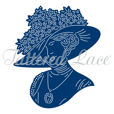 Tattered Lace Die - Edwardian Hazel