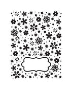 Embossing Folders Daisy Dreams -Allura Collection
