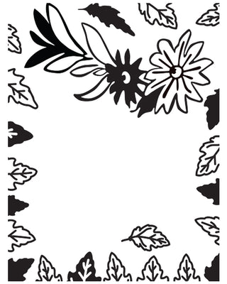 Embossing Folder - Simple Elegance - Bella Collection