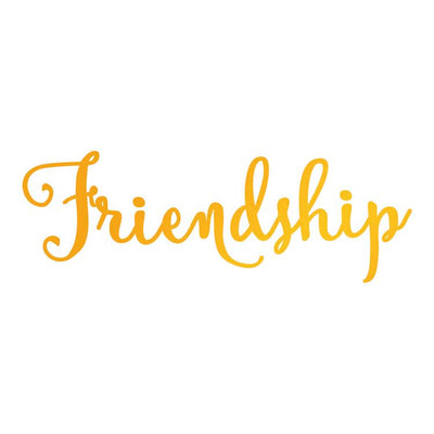Ultimate Crafts Hotfoil Stamp - Friendship