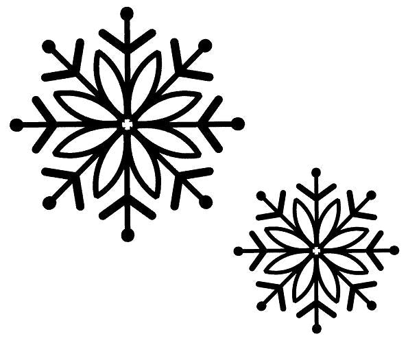 Sue Wilson - Stamps - Bold Snowflake