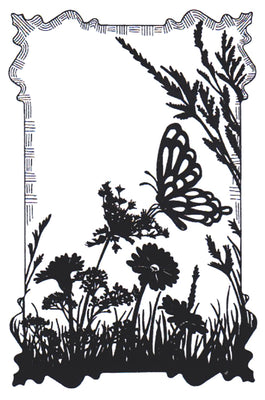 Sue Wilson - Stamps - Butterfly Meadow