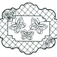 Sue Wilson - Stamps - Butterfly Trellis