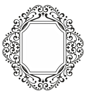 Sue Wilson - Stamps - Fretwork Frame