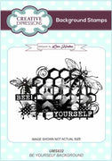 Sue Wilson - Stamps - Bee Yourself A6 Background