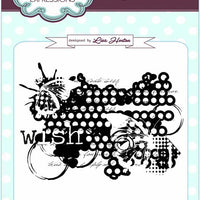 Sue Wilson - Stamps - Wish A6 Background