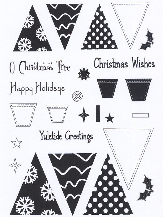 Creative Expressions - Clear Stamps - O Christmas Tree