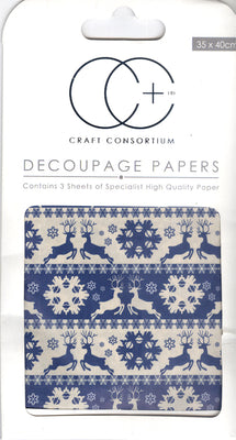 Creative Expressions - Nordic Stripes Decoupage Papers