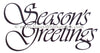 Frog's Whiskers Stamps - Seasons Greetings