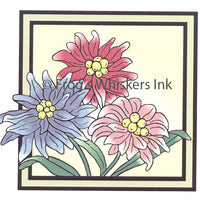 Frog's Whiskers Stamps - Flower Tile