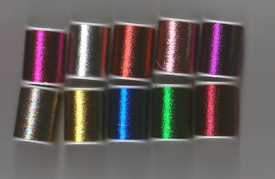 Embroidery Thread - 10 Spools