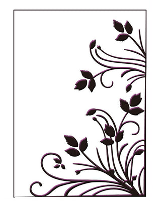 Embossing Folder - Burst of Spring Size 5 x 7