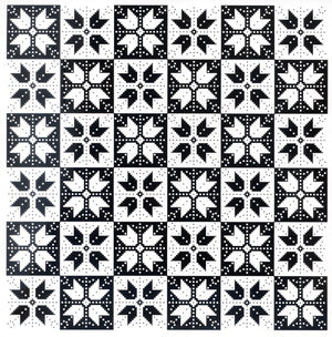 Creative Expressions - Embossing Folder - 8 x 8 Nordic Tiles
