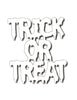 Frantic Stamper Cutting Die - Trick or  Treat Word Die