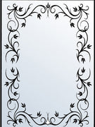 Embossing Folders - Rectangle Frame 1