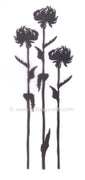 Silhouette Clear Stamp - Flower 7