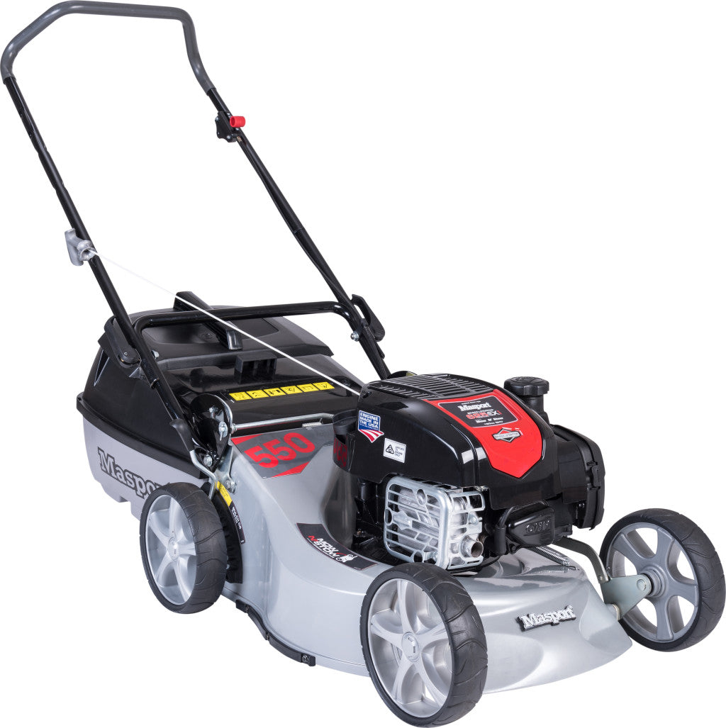 Masport 550AL S18 2n1 Mow n Stow Lawnmower
