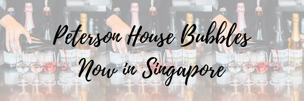PETERSON HOUSE BUBBLES NOW AVAILABLE IN SINGAPORE