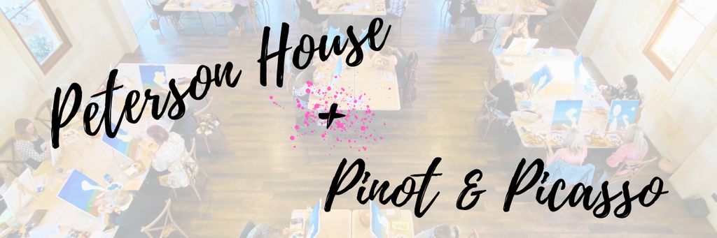 Peterson House hosts Pinot & Picasso for Wine Club Members