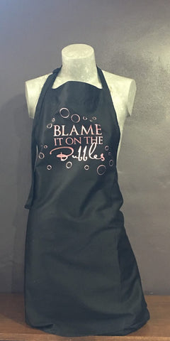 """Blame it on the Bubbles"" Apron"