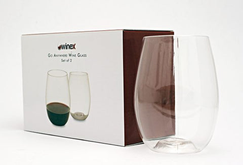 Go Anywhere Glasses (Set of 2)