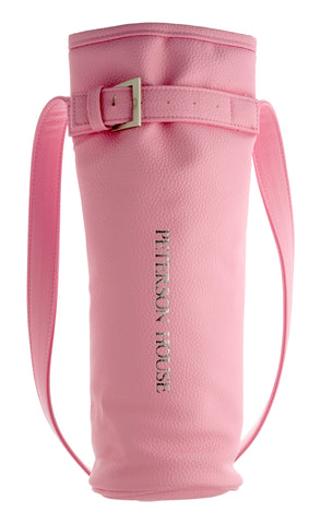 Pink Pleather Bag