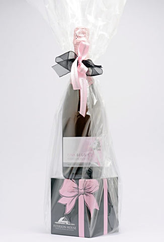 Pink Blush 750ml and Candle Gift Pack (In Store Only)