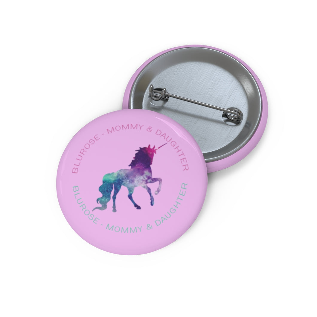BluRose Pin Button