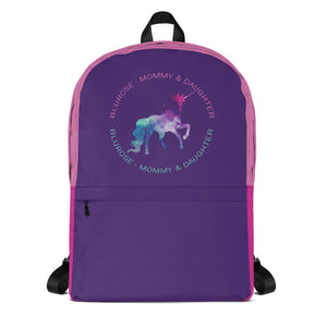 BluRose Backpack (Purple)