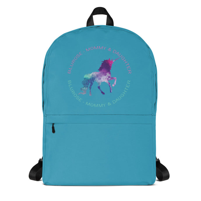 BluRose Backpack (Blue)