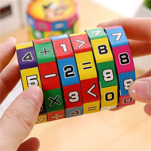 Slide Puzzle Mathematics Magic Cube Toy