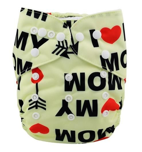 Baby Love - Alva Microsuede Pocket Diaper