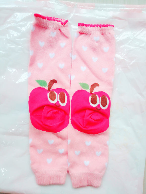 Pink Apple Legwarmer Toddler