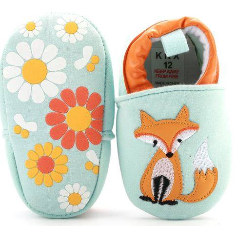 Fox Feet - Crib Shoes