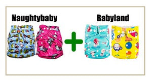 Pack of 4 Pocket Diapers at Rs 999