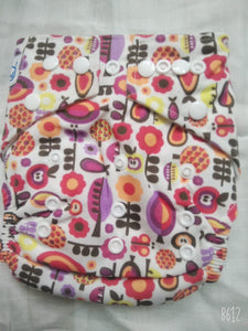 Fruitz- Babyland Microfleece Pocket Diaper