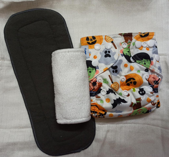 Halloween - New Born Microfleece Pocket