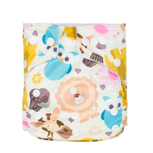 Animalz - Babyland Microfleece Pocket Diaper